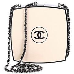 Chanel Compact Powder Minaudiere Plexiglass