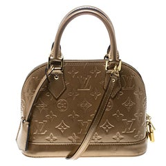 Louis Vuitton Noisette Monogram Vernis Alma BB Tasche