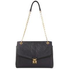 Louis Vuitton Saint Germain Handbag Monogram Empreinte Leather MM
