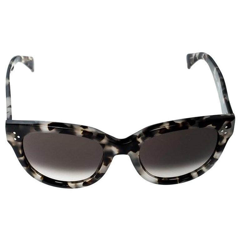 74ce2c7413551 Celine Spotted Havana Brown Gradient Audrey CL 41755 AVVZ3 Wayfarer  Sunglasses For Sale