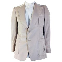 Mens Gucci Corduroy Two Button Blazer