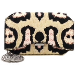 Givenchy Bow Cut Chain Crossbody Bag Printed Leather Mini