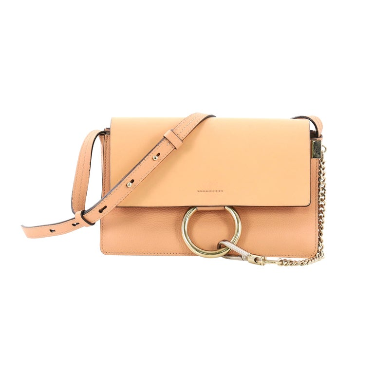 5e53e8125e497 Chloe Faye Shoulder Bag Leather Small at 1stdibs