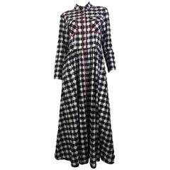Smarteez Checkered Button Down Dress