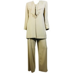 Valentino High Waisted Pant Suit