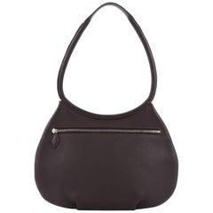 Hermes Cacahuete Handbag Leather