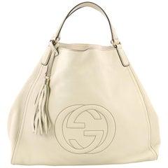 Gucci Soho Große Schultertasche aus Leder