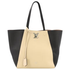Louis Vuitton Lockme Cabas Leder