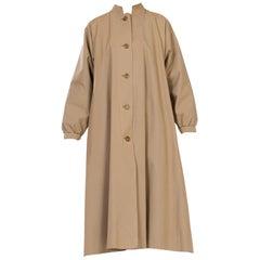 1970s Halston Rain Trench Coat
