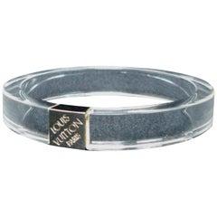 Louis Vuitton Clear (Ultra Rare) Night Clubber Pm Bangle 228676 Bracelet