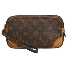Louis Vuitton Brown Monogram Marly Dragonne PM