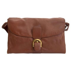 Delvaux Brillant Brown Shoulder Bag