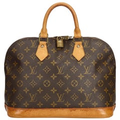 Louis Vuitton Braune Monogram Alma PM