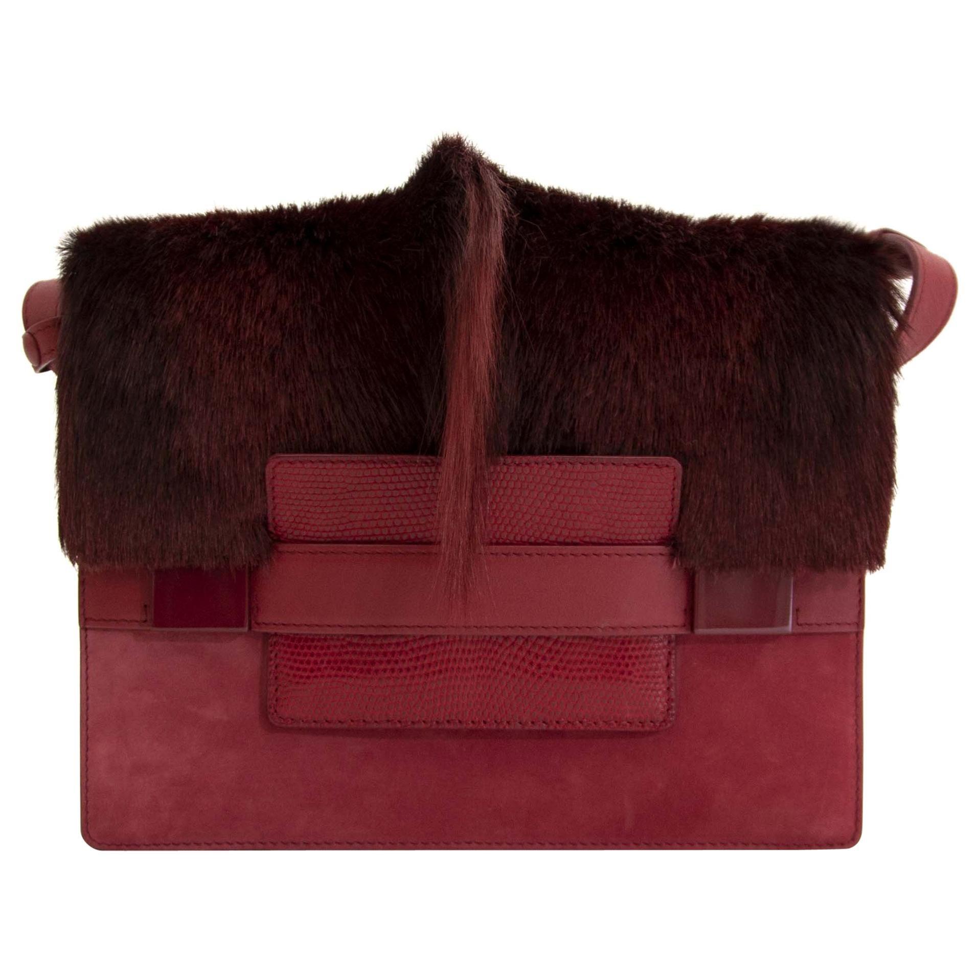 Delvaux Madame Springbok Crossbody Bag