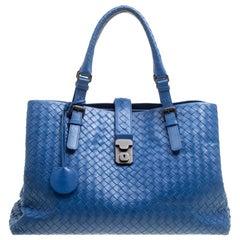 9136e0837148 Bottega Veneta Extra Large Turquoise Aqua Intrecciato Nappa Tote Bag ...