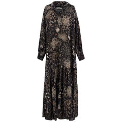 Chloe Silk Floral Maxi Dress US 0-2