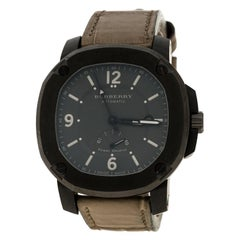 Burberry Graue The Britain BBY1000 Herren Armbanduhr 45mm