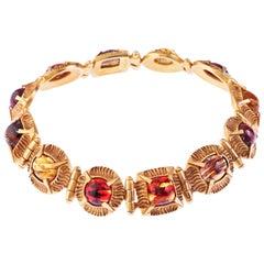 Simon Harrison Angevin Glass Cabochon Necklace