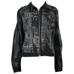 Jean Paul Gaultier Vintage Trompe L'oeil Denim Jacket