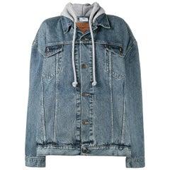 Vetements X Levi's Oversized Denim Hooded Jacket