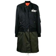 Mr & Mrs Italy Embroidery Clark Ross Bomber Parka