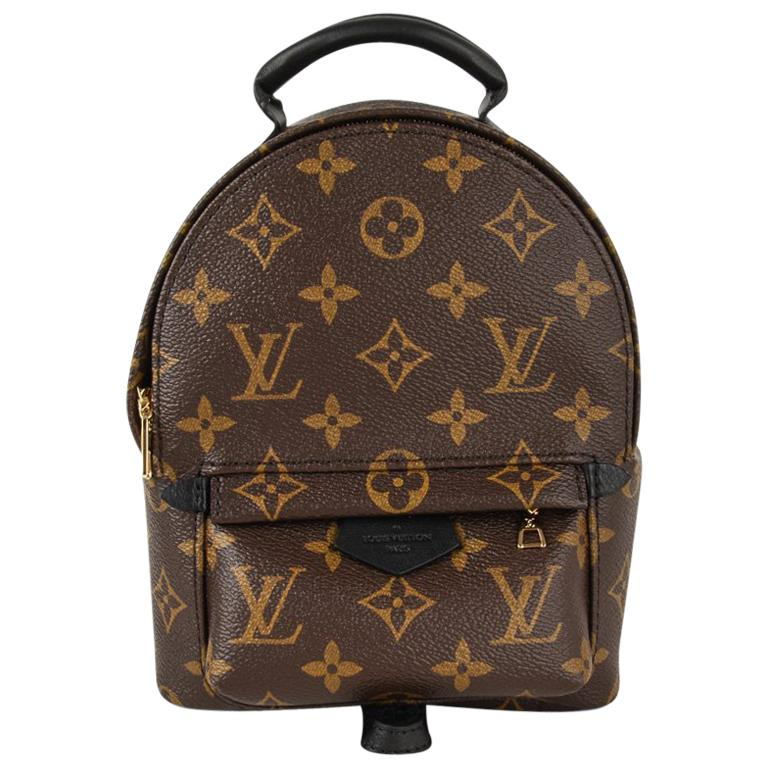 fab65132b3f81 Louis Vuitton Palm Springs Backpack Mini Monogram For Sale at 1stdibs