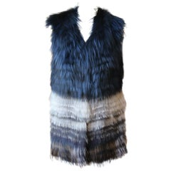 Yigal Azrouel Fox Fur Vest