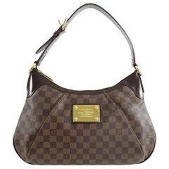 Louis Vuitton Damier Ebene Thames Shoulder Bag GM