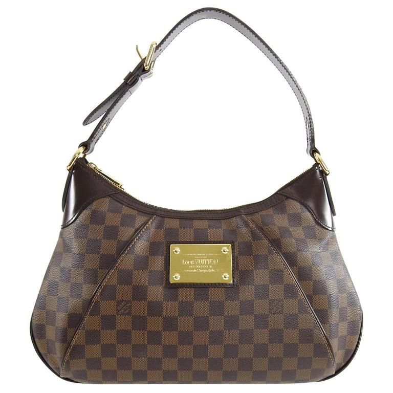 e2eb09e7f995 Louis Vuitton Damier Ebene Thames Shoulder Bag GM For Sale at 1stdibs