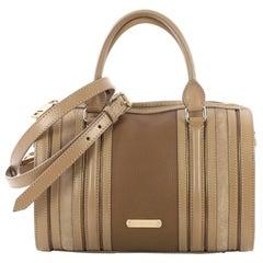 Burberry Alchester Bowling Bag Leather Medium