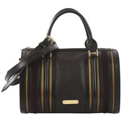 Burberry Alchester Bowling Bag Leather Medium