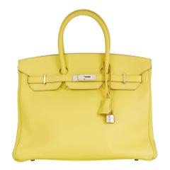 2013 Hermès Soufre Epsom Leather Birkin 35cm