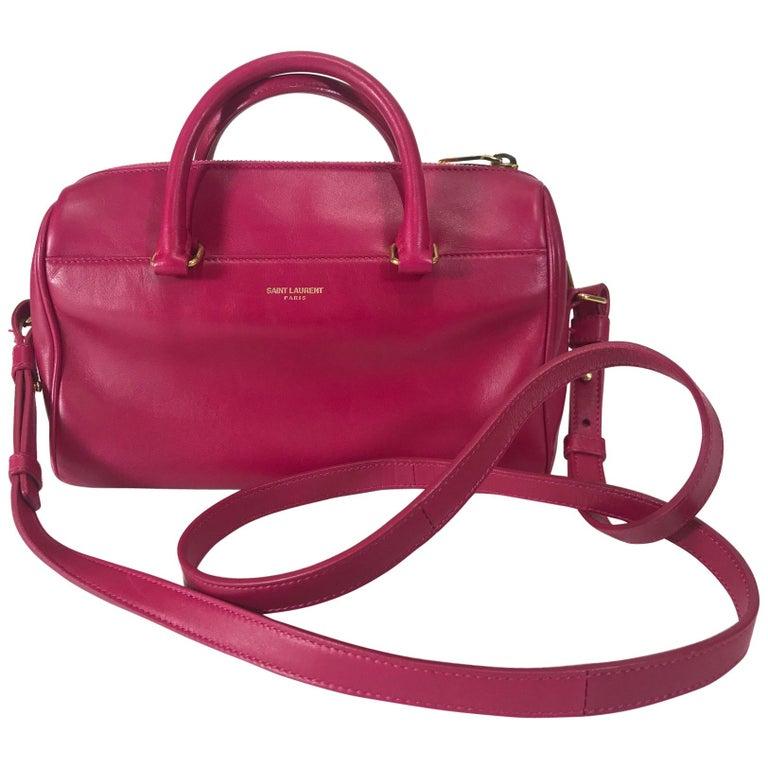 Saint Laurent Classic Duffle 6 Bag For Sale