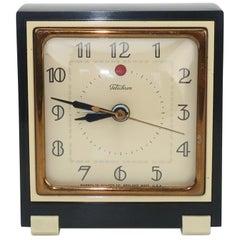 Telechron 1930's Art Deco Alarm Clock