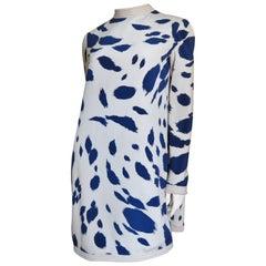 1960s Pierre Cardin Silk Dress with Cape