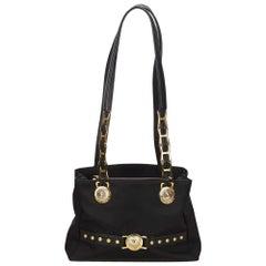 Versace Black Medusa Shoulder Bag