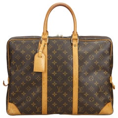 Louis Vuitton Brown Monogram Porte-Document Voyage