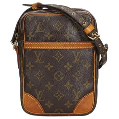 Louis Vuitton Brown Monogram Danube