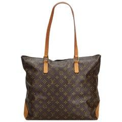 Louis Vuitton Brown Monogram Cabas Mezzo