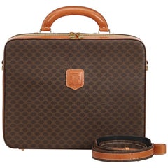 Celine Brown Macadam Business Bag