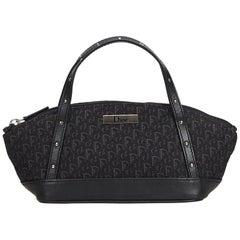 Dior Black Diorrisimo Jacquard Handbag