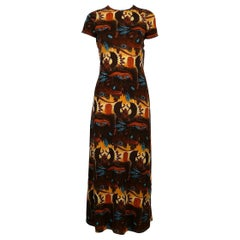 Jean Paul Gaultier Vintage Egyptian Print Dress