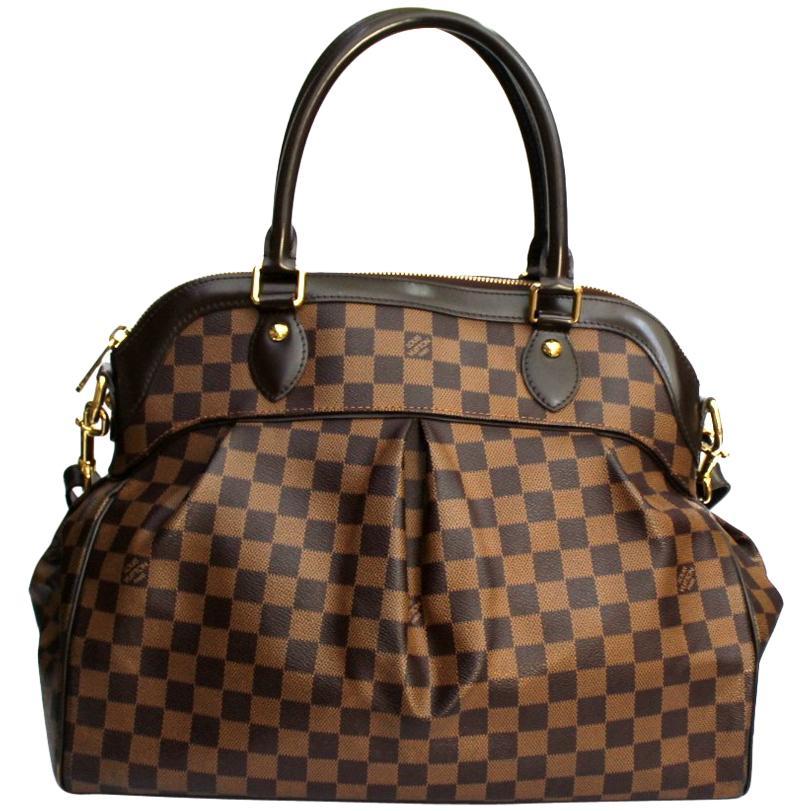 2010 Louis Vuitton Damier Ebene Trevi GM Bag