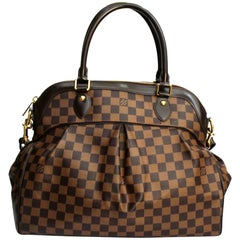 2010 Louis Vuitton Damier Ebene Trevi GM Bag