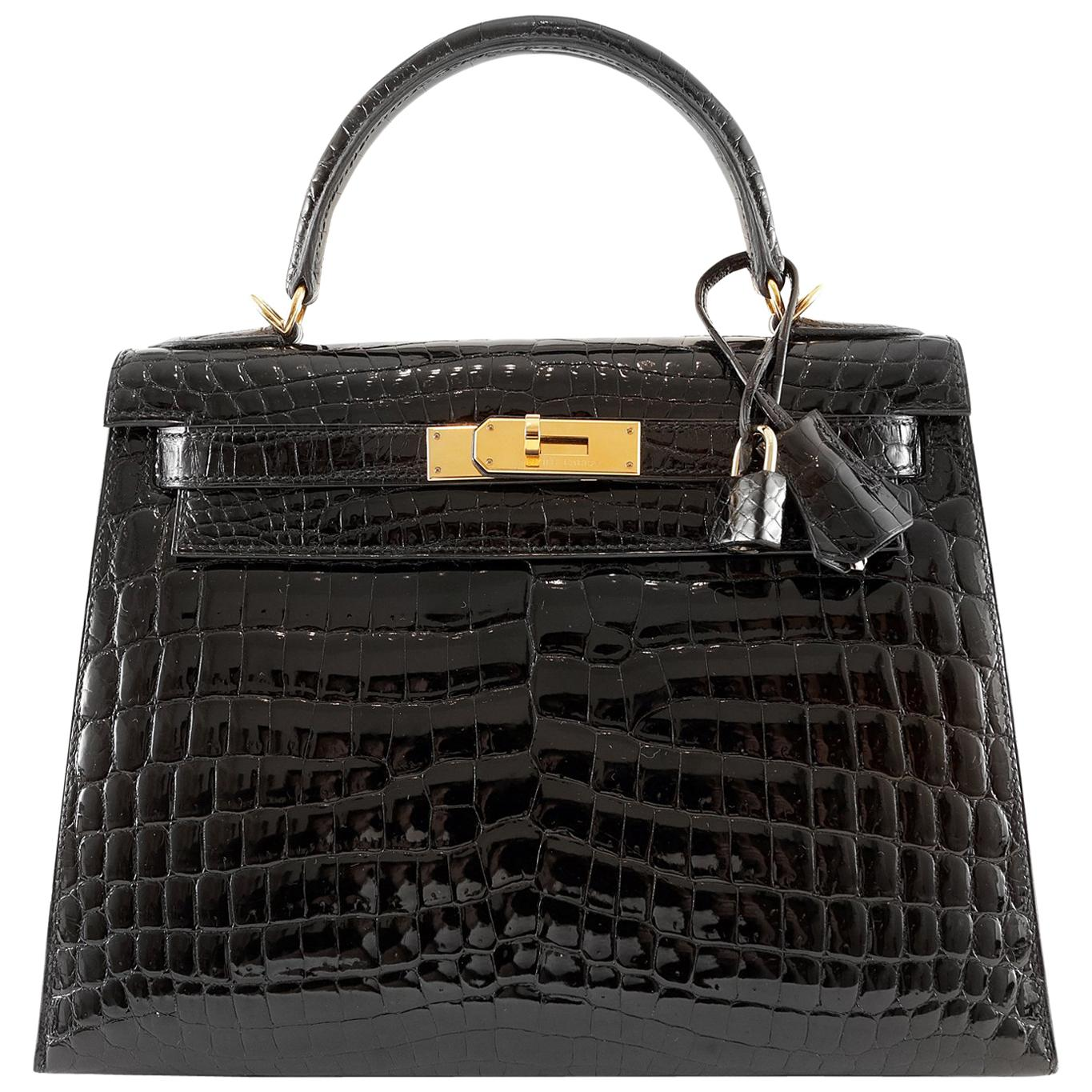 17d9e25e7939 Crocodile Leather Handbags - 560 For Sale on 1stdibs