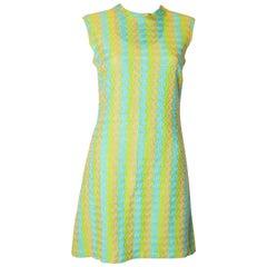 Vintage 1960s Leygil Shift Dress