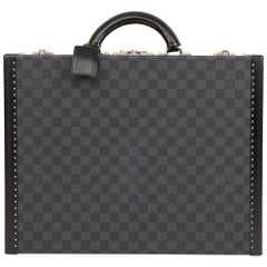 2013 Louis Vuitton Graphite Damier Coated Canvas Cotteville 45