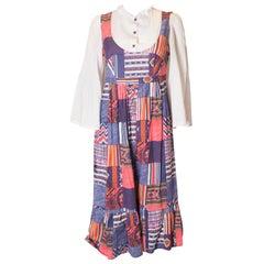 Vintage Summer Patchwork Dress
