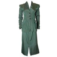 Vintage 1940s Skirt Suit