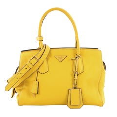 Prada Convertible Tote Vitello Daino Medium